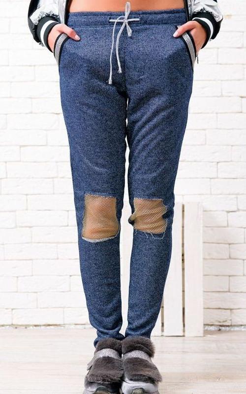 Спортивные брюки 39468-01 вид спереди