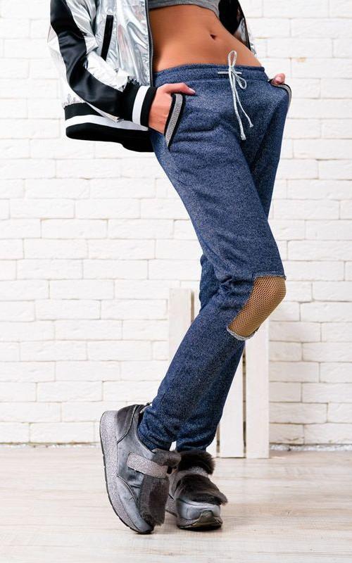 Спортивные брюки 39468-01 вид сбоку (2)